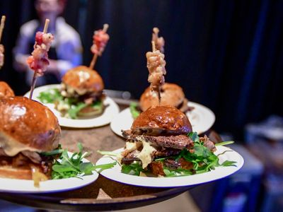 """Meat enthusiasts unite at the <strong><a href=""""https://everout.com/events/slider-cook-off/e20980/"""">Slider Cook-Off</a></strong> held at the Museum of Glass this month."""