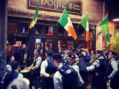 "Doyle's Public House will host a scaled-back version of their (free) <a href=""https://everout.com/tacoma/events/st-patricks-day-festival-at-doyles-public-house/e23613/"">St. Patrick's Day Festival</a> this weekend, featuring live music from the Clan Gordon Pipe Band."