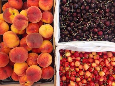 """The <a href=""""https://everout.com/locations/kenton-farmers-market/l39021/"""">Kenton Farmers Market</a> is offering delicious boxes full of seasonal goodness every Wednesday, all summer long!"""