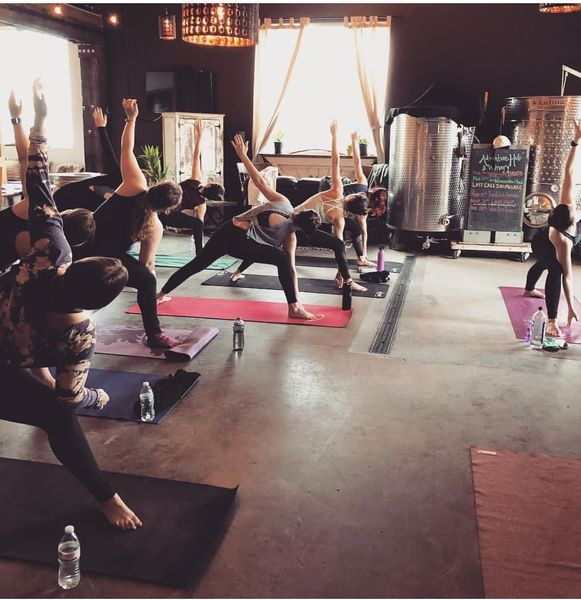 Yoga Wine At Elsom Cellars At Elsom Cellars In Seattle Wa Third Sat Of Every Month The Stranger