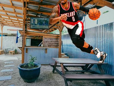 "Dame won't <em>actually</em> be dropping dimes from the picnic table at the <a href=""https://everout.com/locations/hi-top-tavern/l39085/"">Hi-Top</a> this summer... but he <em>could</em> if he wanted to."
