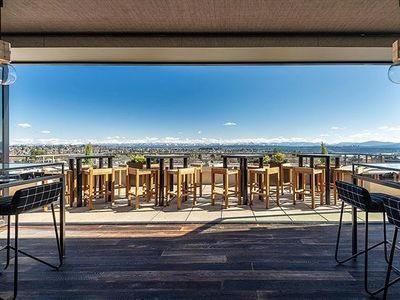 """At the U-District's <a href=""""https://everout.thestranger.com/locations/mountaineering-club/l14220/"""">Mountaineering Club</a> (which just reopened on Friday), you can take in a view of Mount Rainier and the Space Needle while you tuck into Hama Hama oysters and PNW-inspired cocktails."""