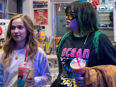 """Two friends take a road trip across state lines to access a safe abortion clinic in Lee Goldenberg's teen buddy comedy <em><a href=""""https://www.thestranger.com/events/44449107/unpregnant"""">Unpregnant</a></em>, which is streaming on HBO Max."""