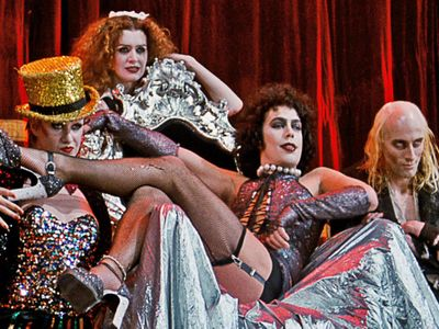 """<em>Rocky Horror</em> turns 45 this year! Catch drive-in screenings at the <a href=""""https://everout.com/stranger-seattle/events/the-rocky-horror-picture-show-45th-anniversary-showing/e36571/"""">Skyline Drive-In</a> the weekend of September 25 (the official anniversary) or later in the season at <a href=""""https://everout.com/events/drive-in-movie-at-paseo/e34790/"""">Paseo</a>."""