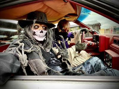 """Your car will protect you from the ghouls and goblins of Snohomish at Stalker Farms' <a href=""""https://everout.com/events/stalker-farms-drive-thru-haunted-attractions/e36493/"""">Drive-Thru Haunts</a>, one of several socially distant options on our <a href=""""https://everout.com/stranger-seattle/events/?category=halloween"""">Halloween calendar</a>."""