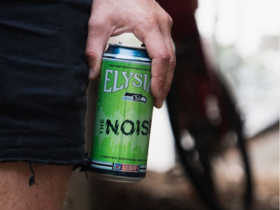 """<a href=""""https://everout.com/search/?q=elysian"""">Elysian Brewing</a>'s beer """"The Noise"""" is named for the ruckus that """"12s"""" are known for raising at Seahawks games."""