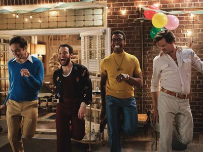 """In its third incarnation since Mart Crowley's original 1960s play, <a href=""""https://www.thestranger.com/events/45832467/the-boys-in-the-band""""><em>The Boys in the Band</em></a>, now streaming on Netflix, centers a birthday-party-turned-tense-reunion among a group of gay friends and frenemies."""