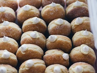 """Pamela Vuong's doughnut pop-up <a href=""""https://everout.com/locations/the-flour-box/l13730/"""">The Flour Box</a>, which has accrued a loyal following on Instagram, opened its first brick-and-mortar bakery in Hillman City this week."""