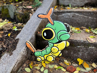 "Every day at 6 pm for <a href=""https://everout.com/portland-mercury/events/pokemon-go-vember/e38299/"">Pok&eacute;mon Govember</a>, Portland artist Mike Bennett drops clues to help you find original Pok&eacute;mon cutouts in secret locations around town. Just look how cute Caterpie looks chilling on the steps outside a ceramics studio."