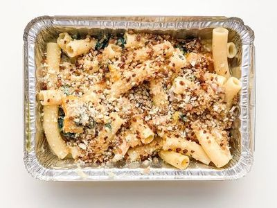 "Give yourself a break from cooking and opt for a comforting take-and-bake vegetarian pasta from <a href=""https://everout.com/portland-mercury/locations/ava-genes/l20959/"">Ava Gene's</a>."