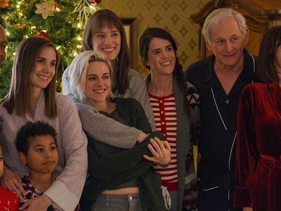 "Kristen Stewart stars alongside Mackenzie Davis, Dan Levy, Aubrey Plaza, and other recognizable faces in <a href=""https://www.thestranger.com/events/52209349/happiest-season""><em>Happiest Season</em></a>, a delightful new gay holiday rom-com streaming on Hulu."