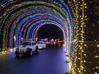 """Boasting itself as the largest light show in the Northwest, Pacific International Raceway's <a href=""""https://everout.com/portland-mercury/events/winter-wonderland-at-portland-international-raceway/e39123/"""">Winter Wonderland</a> will get the drive-through treatment this year, starting this weekend."""