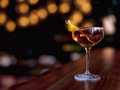 """Exercise your right to imbibe with <a href=""""https://everout.com/stranger-seattle/locations/ben-paris/l14105/"""">Ben Paris</a>'s perfect Manhattan."""