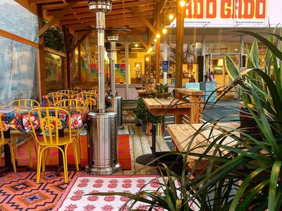 """Now that Portland restaurants have reopened for outdoor dining, head to <a href=""""https://everout.com/portland-mercury/locations/?feature=outdoor-dining"""">one of these patios</a> (like <a href=""""https://everout.com/portland-mercury/locations/gado-gado/l19427/"""">Gado Gado</a>, pictured) for an al fresco meal."""