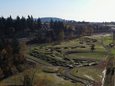 """The Eastside's expansive <a href=""""https://everout.portlandmercury.com/locations/gateway-green/l30480/"""">Gateway Green</a> has finally reopened with new and improved cycling and hiking paths to explore."""