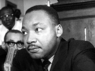 """Sam Pollard's documentary <a href=""""https://www.thestranger.com/events/54691266/mlkfbi""""><em>MLK/FBI</em></a>, which chronicles the Federal Bureau of Investigation's harassment of the civil rights leader, is available to rent on-demand on Amazon Prime Video, Google Play, and Vudu."""