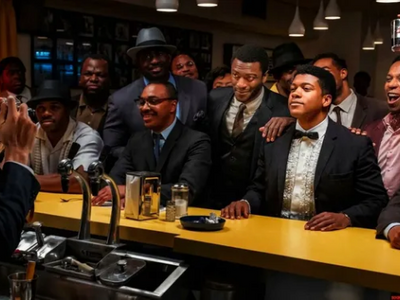 """Regina King's <a href=""""https://everout.com/events/one-night-in-miami/e40482/""""><em>One Night in Miami</em></a>, streaming on Amazon Prime Video starting Friday, imagines a fateful encounter between Cassius Clay, Jim Brown, Sam Cooke, and Malcolm X at the height of the civil rights movement."""