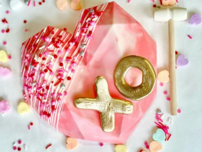 "Break a heart this Valentine's Day with <a href=""https://everout.com/portland-mercury/locations/sisters-gourmet-deli/l39272/"">Sisters Gourmet Deli</a>'s pi&ntilde;ata-like creations, which are filled with treats and come with a tiny mallet for smashing."