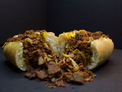 """A new pop-up called <a href=""""https://everout.com/portland-mercury/events/buddys-steaks/e40932/"""">Buddy's Steaks</a> aims to perfect the plant-based Philly cheesesteak."""