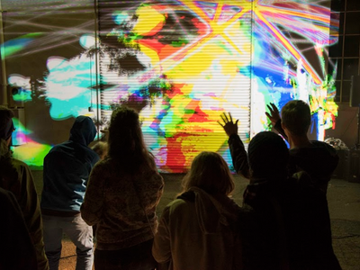 """Starting this weekend, the Willamette Light Brigade's <a href=""""https://everout.com/events/portland-winter-light-non-festival/e40085/"""">Portland Winter Light (non)Festival</a> will cheer your icy spirits with installations throughout the city, including <a href=""""https://everout.com/portland-mercury/events/portland-winter-light-non-festival-sea-creatures/e41226/""""><em>Sea Creatures</em></a> at the Portland Art Museum on Friday."""