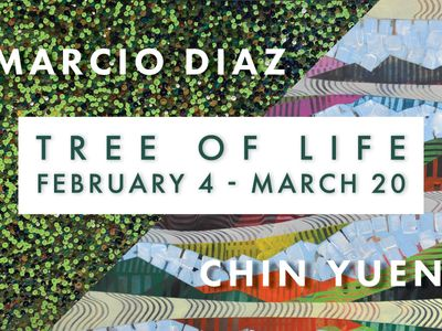 TREE OF LIFE | New Work by Marcio Diaz and Chin Yuen