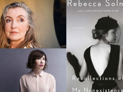 """Just in time for International Women's Day, longtime author and activist Rebecca Solnit will <a href=""""https://everout.com/stranger-seattle/events/rebecca-solnit-with-carrie-brownstein/e41932/"""">sit down virtually</a> with Sleater-Kinney's Carrie Brownstein for a chat centering Solnit's latest memoir this Sunday."""