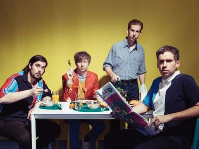 """Youthful New York-based four-piece <a href=""""https://www.thestranger.com/events/26123056/parquet-courts-gong-gong-gong"""">Parquet Courts</a> will play their new Ellen DeGeneres–endorsed jams on Sunday."""