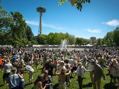 """Discover cultures from around the world through arts, crafts, and street food at the <a href=""""https://www.thestranger.com/events/37172875/northwest-folklife-festival"""">Northwest Folklife Festival</a>, returning to Seattle Center over Memorial Day weekend."""