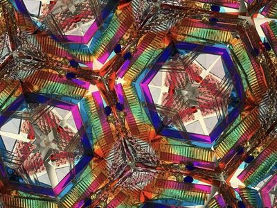 """Trip out on photos of kaleidoscopic images by <a href=""""https://www.thestranger.com/events/39964076/greg-lundgren-1977"""">Greg Lundgren. </a>"""