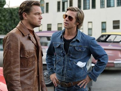 """A superstar duo plays an aging B-list actor and his stunt double in <em><a href=""""https://everout.thestranger.com/movies/once-upon-a-time-in-hollywood/A20202"""">Once Upon a Time in... Hollywood</a></em>."""