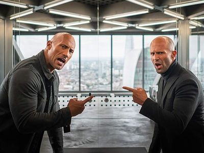"""<em><a href=""""https://everout.thestranger.com/movies/fast-furious-presents-hobbs-shaw/A20113"""">Hobbs & Shaw</a></em> just need to hug it out. Or shoot it out."""
