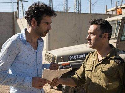 """The witty comedy <i><a href=""""https://www.thestranger.com/movies/40021381/tel-aviv-on-fire"""">Tel Aviv on Fire</a></i> by Sameh Zoabi won the Golden Needle Audience Award this year."""