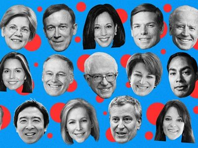 Each of these floating heads will get some stage time in the first round of Democratic Debates, screening on NBC, MSNBC, and Telemundo.
