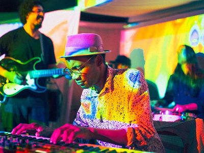 """This week at the <a href=""""https://www.thestranger.com/events/40925253/earshot-jazz-festival-2019"""">Earshot Jazz Festival</a>, don't miss an evening with spectral jazz trio <a href=""""https://www.thestranger.com/events/41370708/dj-j-justice-afrocop"""">Afrocop</a> (pictured) and SunTzu Sound founder DJ J-Justice."""
