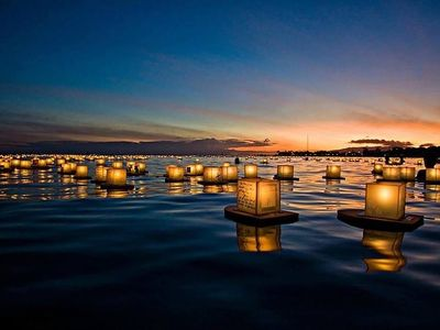 "Write a message on a paper luminary and watch it drift across Green Lake at Saturday's <a href=""https://www.thestranger.com/events/40506133/water-lantern-festival-seattle"">Water Lantern Festival</a>."