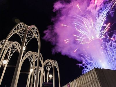 """Ring in a new decade with laser karaoke, live DJs, and primo views of the Space Needle's fireworks show at <a href=""""https://www.thestranger.com/events/42033264/spectra-nye-2020"""">Spectra</a>, the Pacific Science Center's speakeasy-style New Year's Eve party."""