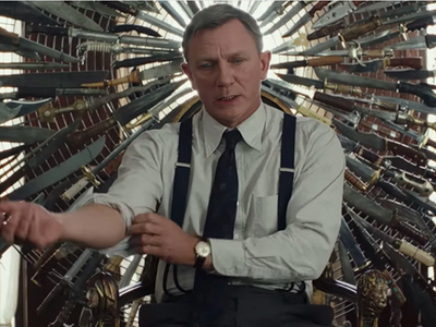 """Hopefully your Thanksgiving will be a little less stressful than Daniel Craig's stint in <em><a href=""""https://everout.thestranger.com/movies/knives-out/A22799/"""">Knives Out</a></em>."""