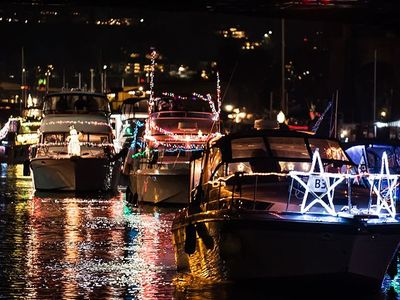 """Pro tip: While the <a href=""""https://www.thestranger.com/events/41169075/christmas-ship-festival"""">Christmas Ship Festival</a>'s impressive <a href=""""https://www.thestranger.com/events/42241327/christmas-ship-parade-of-boats"""">Parade of Boats</a> is sold out on board, you can watch from the shore for free at the cruise's official <a href=""""https://www.thestranger.com/events/42264043/christmas-ship-parade-of-boats-viewing-party"""">viewing party</a> (or your other favorite spot along the water)."""