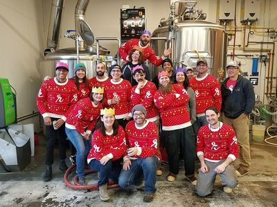 """Tacky sweaters and toy donations are welcome at <a href=""""https://www.thestranger.com/events/42310430/toy-drive-tyt-and-ugly-sweater-party"""">the Brewtap</a>'s Wellspring Family Services fundraiser and toy drive on December 19."""