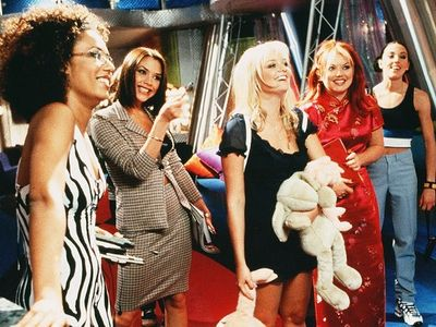 """For the latest installment of <a href=""""https://www.thestranger.com/events/42183373/be-kind-rewind-spice-world"""">Be Kind, Rewind</a> on December 26, the '90s British musical fantasy <i>Spice World</i> will be made better with live commentary and performances from local drag queens Americano and She."""