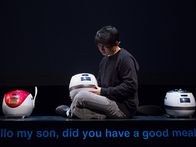 """Don't miss Jaha Koo's documentary theater piece <a href=""""https://www.thestranger.com/events/40290044/jaha-koo-cuckoo""""><i>Cuckoo</i></a>, wherein three rice cookers come to life to discuss recent Korean history, at On the Boards this week."""