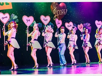"""The beloved burlesque dancers of the <a href=""""https://www.thestranger.com/events/41781863/the-atomic-bombshells-injadore-a-burlesque-valentine"""">Atomic Bombshells</a> will bring feathery, busty, glitzy fun to the Triple Door over Valentine's Day weekend."""