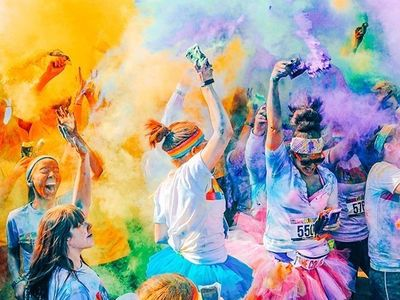 """The <a href=""""https://www.thestranger.com/events/42424446/the-color-run-5k-seattle-2020"""">Color Run 5K</a> will return to Seattle Center this spring to leave you looking like a human tie-dye."""