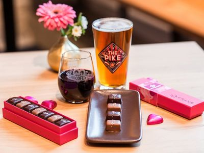 """This weekend, pregame for <a href=""""https://www.thestranger.com/events/valentinesday/"""">Valentine's Day</a> at the chocoholic bacchanalia that is <a href=""""https://www.thestranger.com/events/42166595/chocofest-2020"""">Chocofest</a>."""