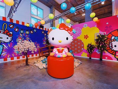 "Hello Kitty is turning 45! Join your favorite Sanrio character for a <a href=""https://www.thestranger.com/events/42165995/hello-kitty-friends-around-the-world-tour"">trip around the world</a> (aka a tour through five interactive rooms) to collect treats, souvenirs, and passport stamps."