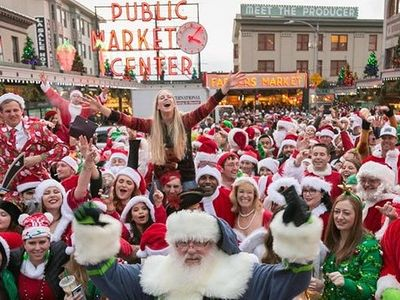 "Drunk Santa clones will take over downtown Seattle at the annual <a href=""https://www.thestranger.com/events/42065142/seattle-santacon-2019"">SantaCon</a> bar crawl this weekend. You've been warned."