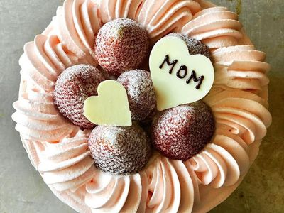 """The Japanese-meets-French <a href=""""https://everout.thestranger.com/seattle/search/?&q=fuji%20bakery"""">Fuji Bakery</a> has some mom-worthy treats available for preorder, like cotton cake with fresh strawberries and vanilla Chantilly cream (pictured) and cupcakes in the likeness of spring bouquets."""