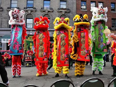 """Head to Magnuson Park on Saturday for an indoor <a href=""""https://www.thestranger.com/events/42304565/seattle-night-market-lunar-new-year"""">Lunar New Year Night Market</a> complete with over 100 local Asian-inspired vendors and food trucks, a live DJ, and a traditional lucky dragon dance performance."""