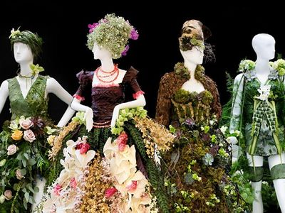 """Get excited for winter's end (if you aren't already) at this year's """"Spring Fever""""-themed <a href=""""https://www.thestranger.com/events/42697653/northwest-flower-and-garden-festival"""">Northwest Flower & Garden Festival</a>, where you'll find display gardens, a marketplace, and these Instagram-friendly floral art mannequins from Fleurs de Villes."""