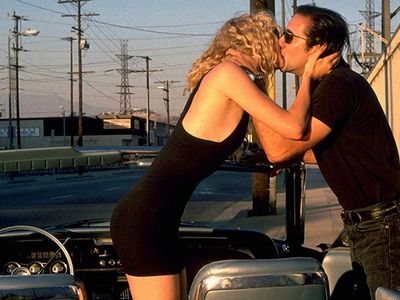"Laura Dern and Nicolas Cage are ravenous for each other in David Lynch's <em><a href=""https://everout.thestranger.com/movies/wild-at-heart/A16451/"">Wild at Heart</a></em>."